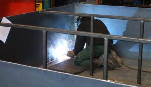 Custom Waste Tank Fabrication