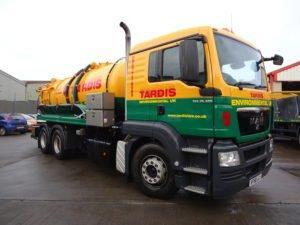 Wet Waste Tardis Tanker