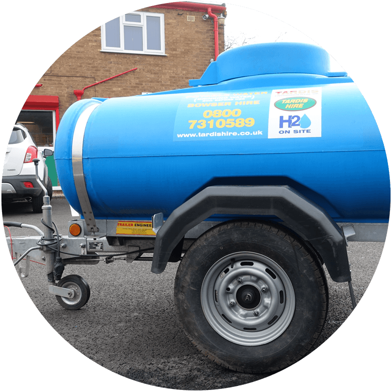 Towable Water Bowser Hire