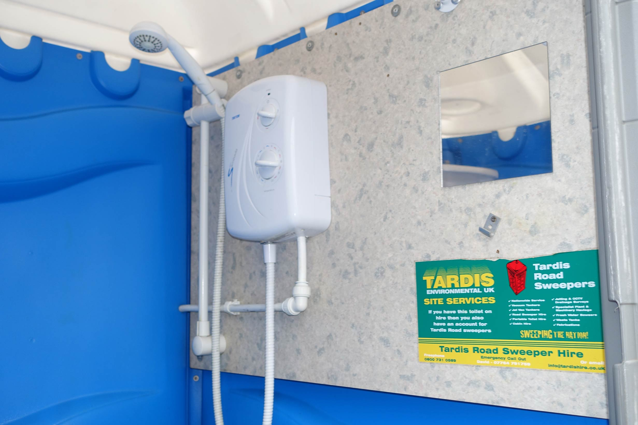 Portable Shower Hire