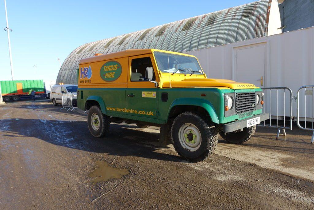 Tardis H2O Land Rover Defender