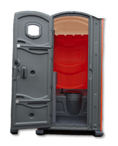 construction site portable toilet