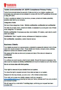 GDPR downloadble pdf