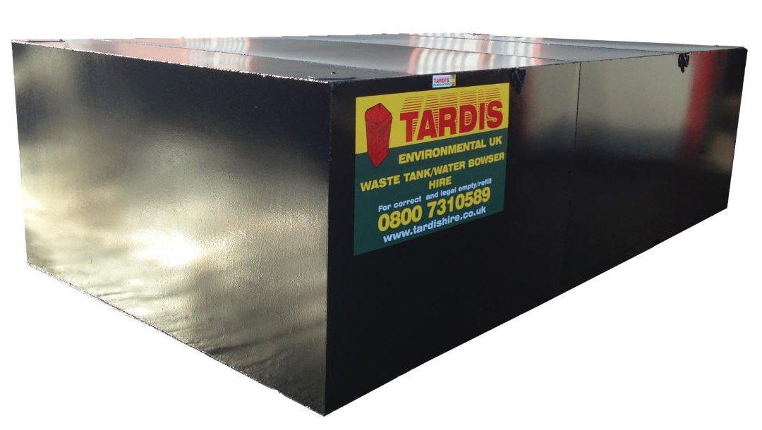 Effluent Tanks for sale & hire | Steel or Plastic Waste Tanks? | Tardis Hire