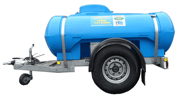2000 litre water bowser