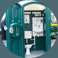 mains portable toilets