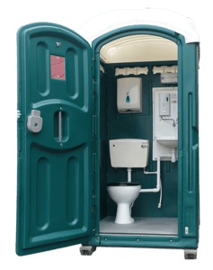 mains portable toilet