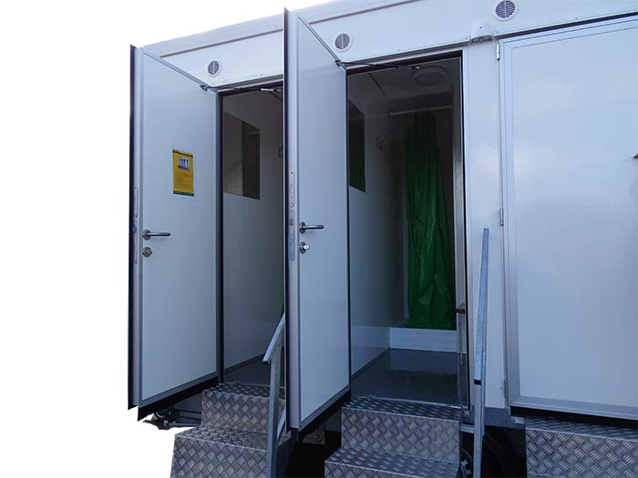 portable shower trailers for rent