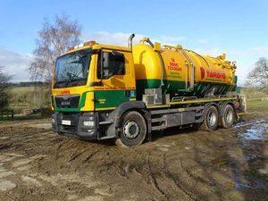 tardis wet waste tanker