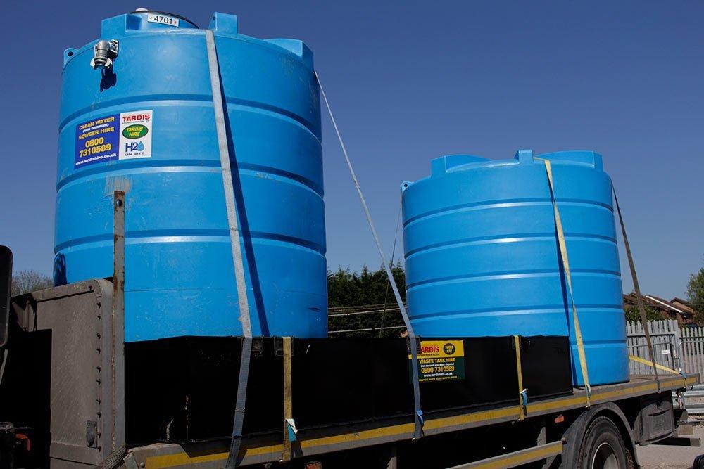 static water tanks