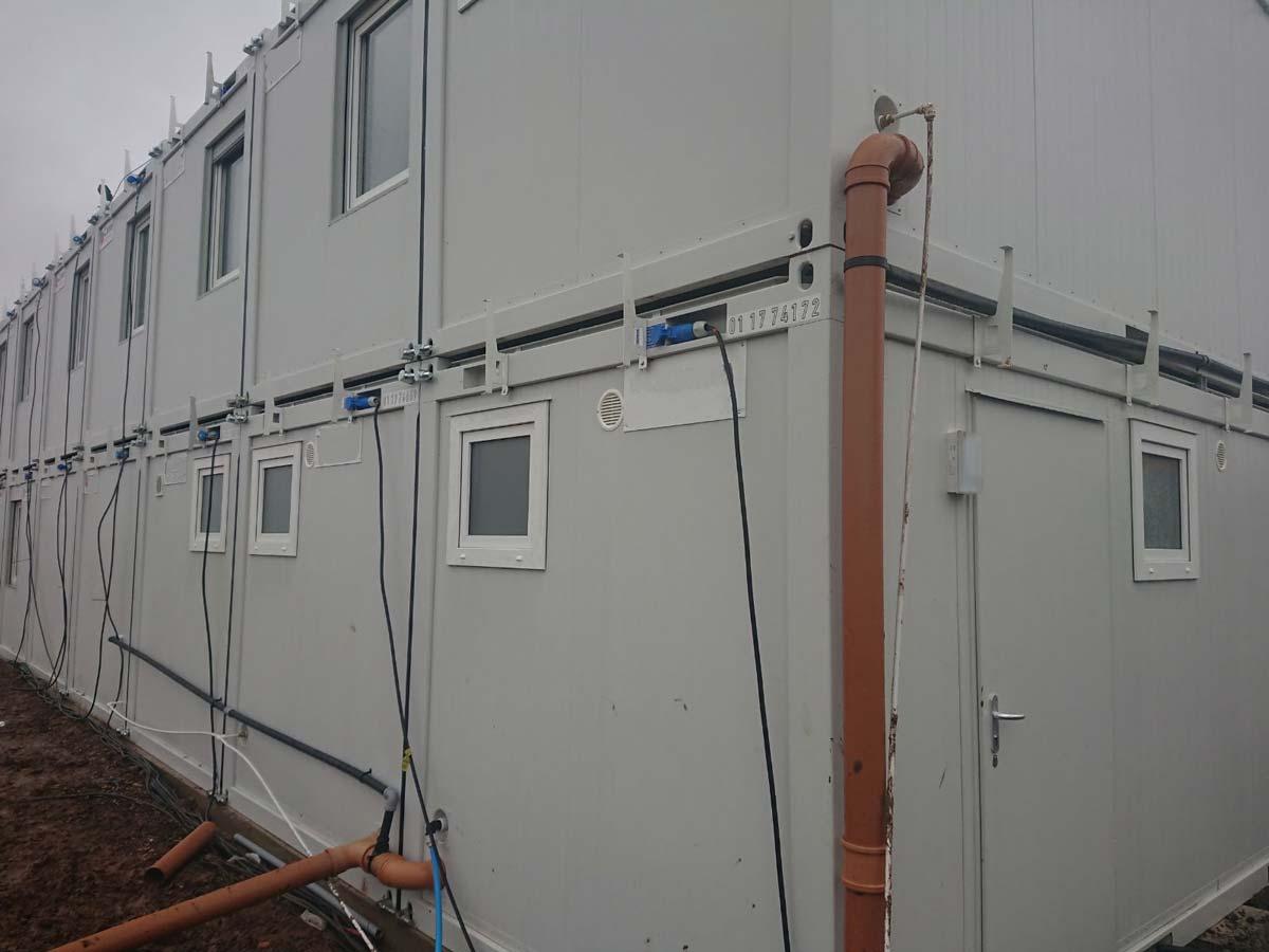 site welfare unit
