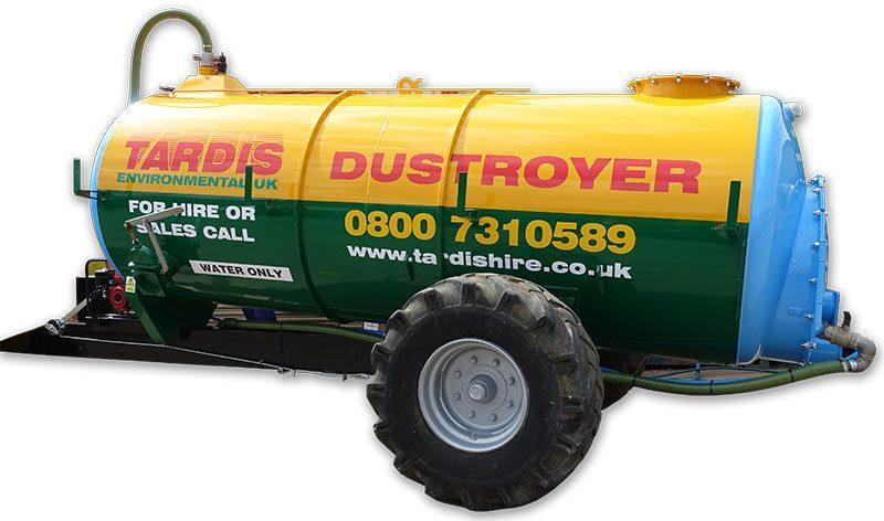 dust suppression bowser